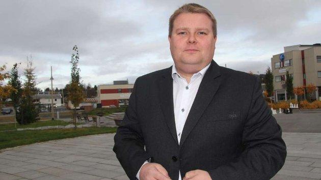 Tommy Berg, gruppeleder for Troms og Finnmark SV