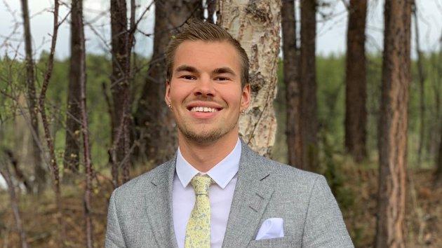 VOKST OPP I NORD: Ørjan Heitmann Nilsen har vokst opp i Nord-Norge, men flyttet til Oslo.