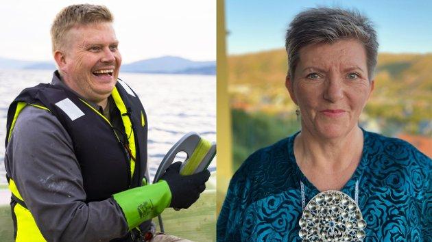 VIL HA KYSTSATSING: Ronny Wilhelmsen og Hanne Marion Gaup.
