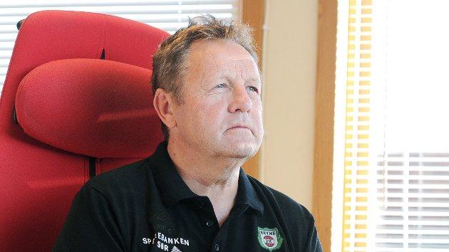 I BRYNE MOT SIN VILJE: Bjarne Berntsen har sagt opp stillingen som daglig leder. Bryne FK vil ikke slippe ham til Sandnes Ulf uten videre.