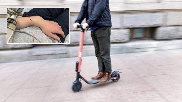 På elsparkesykkel: Trolig blir regelverket ytterligere strammet inn. Foto: Nettavisen