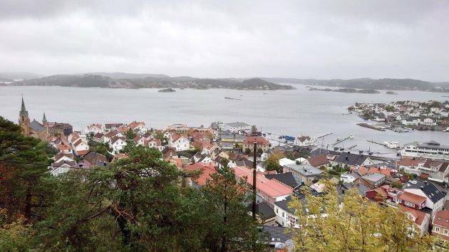 Kragerø sentrum.