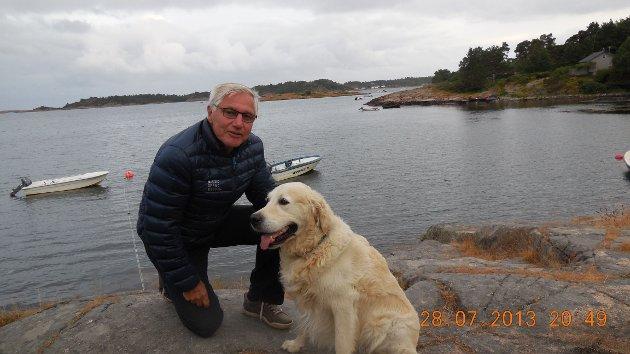 Lars Hugo Tyldum, leder for Eldrerådet i Kongsberg kommune