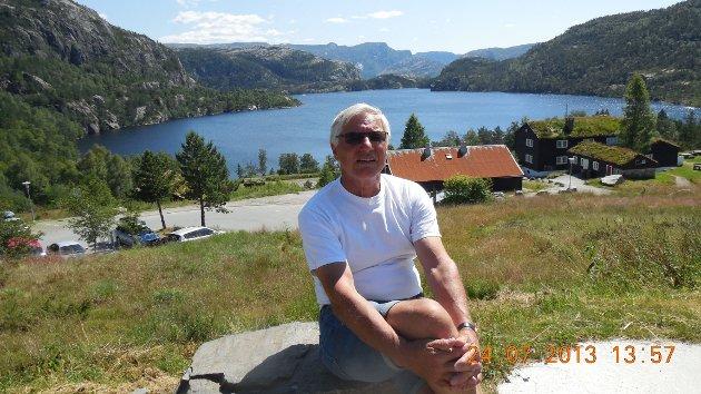 STÅR PÅ FOR DE ELDRE: Lars Hugo Tyldum.