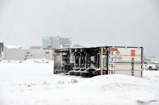 Trailertilhenger på Vorsetøya