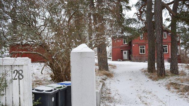 Omstridt: Sveitservillaen i Jordmor Eriksens vei 28. Statsforvalteren stadfester kommunens nei til riving.
