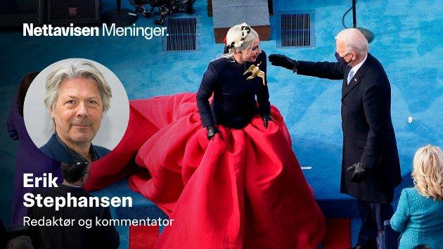 USAs 46. president, Joe Biden. takket artisten Lady Gaga for vel utført sangarbeid i forbindelse med den erfarne politikerens store dag i den amerikanske hovedstaden.