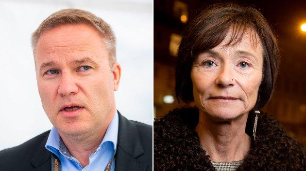 Helge Lurås i Resett og Hege Storhaug i Human Rights Service. Qureshi skriver  at det ikke finnes tvil om at Resett og HRS driver med høyreekstrem propaganda.