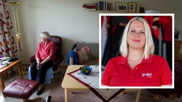 ERNÆRING: – Målet med nasjonale faglige retningslinjer for forebygging og behandling av underernæring er at underernærte, og personer i ernæringsmessig risiko blir identifisert og får en målrettet ernæringsbehandling, skriver Christine Sandø Lundemo.