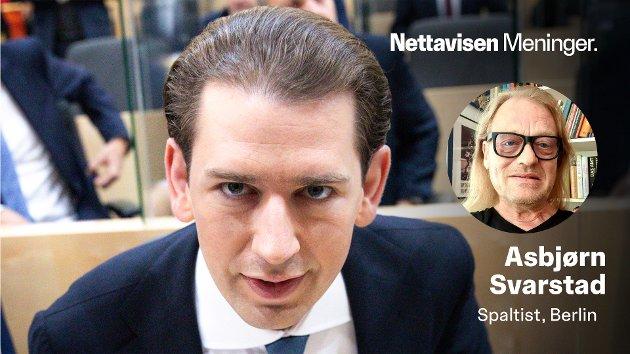 TIDLIGERE KANSLER: – Det forventes at etterforskningen mot Sebastian Kurz og hans medsammensvorne vil vare i minst ett år, og at det kan ta to år før den kommer opp for en domstol, skriver Asbjørn Svarstad.