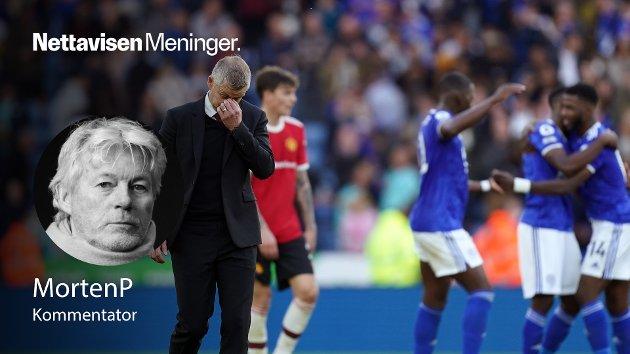 UNDER PRESS: Ole Gunnar Solskjær har hatt en egen evne til å levere under press i snart tre år på Old Trafford. Den synes å være borte. Det som var ondt mot Aston Villa (0-1) og Everton (1-1) ble veldig mye verre mot Leicester, skriver MortenP om gårsdagens bortetap.