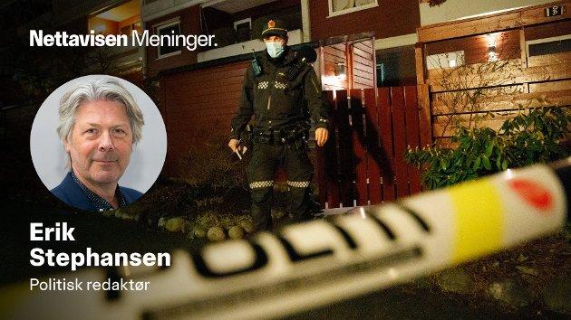 VARSEL: Nå kommer det fram at PST fikk gjentatte varsel om gjerningsmannen også før drapet på den kjente forsvarsadvokaten Tor Kjærvik. Som de  gjorde før drapene på Kongsberg.