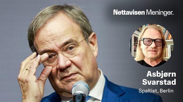 TAPEREN: – En ting står nå klart: Den store taperen etter det tyske valget heter Armin Laschet, skriver Asbjørn Svarstad.