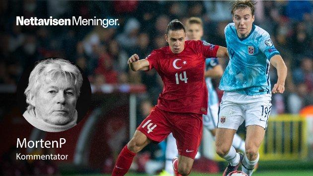 VM-HÅPET: – Det viktige nå er å lande, lade batteriene, bruke poenget for alt det er verd, slå Montenegro på mandag og reise til Rotterdam i november med en reell mulighet til å gå rett til VM, skriver MortenP.