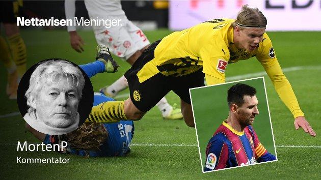 MortenP har ingen tro på «ryktene» om at verdens beste norske fotballspiller, og den «lille» argentiske giganten, skal spille sammen i Manchester.