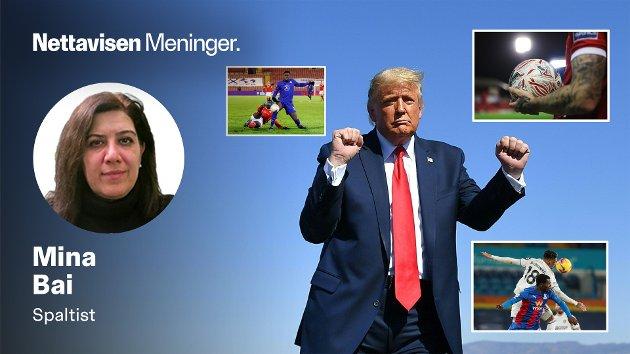 Med et polarisert debattklima, og sosiale medier, er politikk dessverre blitt mer som fotballkamper. De fleste har et lag de heier på, og gruppetilhørighet er viktig, mener Mina Bai.
