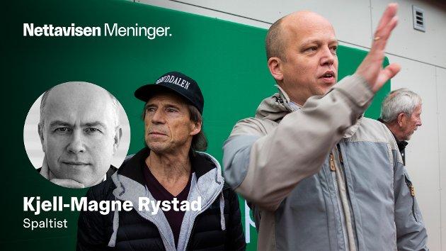 EN POLITISK KANIN: - Partikaninen er uten troverdighet fordi han alltid er enig med ledelsen - uansett hva som kommer, skriver Kjell-Magne Rystad i sin endringsbeskrivelse av Jan Bøhler etter overgangen fra Arbeiderpartiet til Senterpartiet.