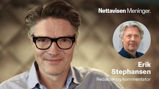 NRK-programleder Shaun Henrik Matheson skjemmer ut den legitime kritikken av staten Israel. Foto: NRK