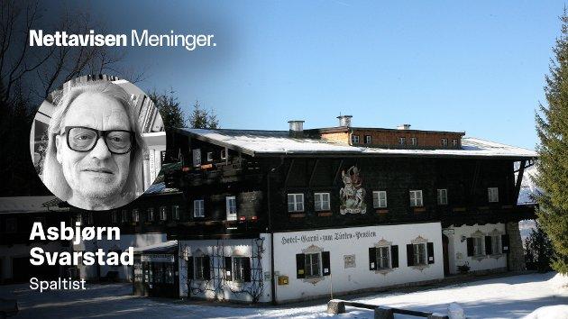 Pensjonatet «Zum Türken», som nylig ble solgt, lå rett ved siden av Hitlers «Berghof» - og var stedet som SS-vaktene ble innlosjert.