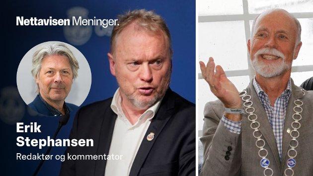 Byrådsleder Raymond Johansen (Ap) må lage mer treffsikre virkemidler, samtidig som  småby-ordførere som Torgeir Dahl (H) må tenke seg bedre om før de deler ut gule og røde kort med skyld og skam neste gang.