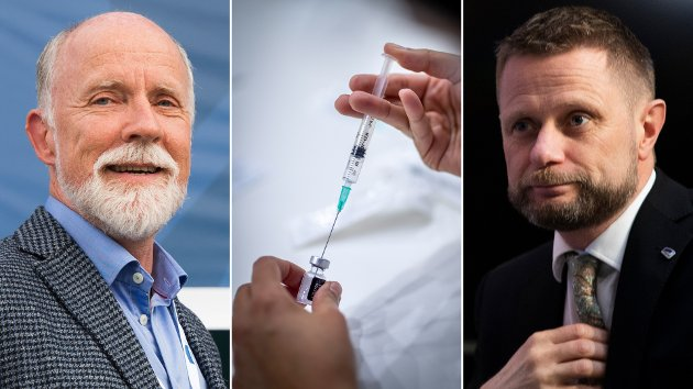 Oslo-skribent går hardt ut ut mot Molde-ordfører Torgeir Dahl (t.v.), helseminister Bent Høie og vaksinestrategien.