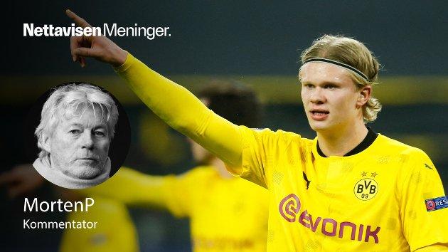 HISSIG PÅ GRØTEN: Han scorer og scorer og scorer. Eventyret Erling Braut Haaland knuser rekord etter rekord i Champions League-sammenheng. Tirsdag kveld i Dortmund var intet unntak.