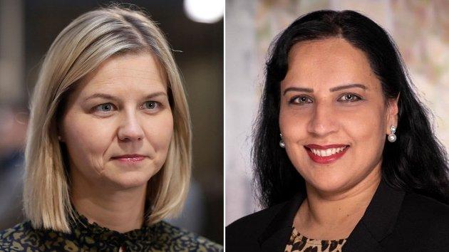 Guri Melby svarer på Afshan Rafiq utfordring på kvinnedagen, om den nye handlingsplanen mot negativ sosial kontroll, tvangsekteskap og kjønnslemlestelse.
