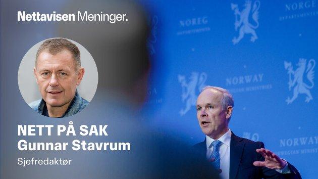 RENTER: Finansminister Jan Tore Sanner kan heldigvis ikke instruere Norges Bank til å sette opp rentene.