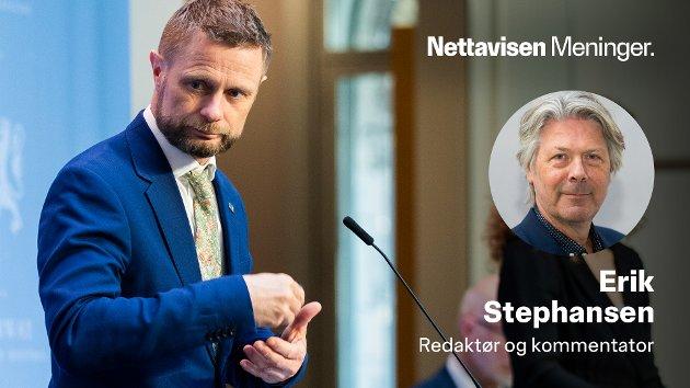 På pressekonferansen tirsdag fortalte helseminister Bent Høie at regjeringen nå legger om vaksinestrategien - med mer trykk mot de utsatte bydelene i Oslo.