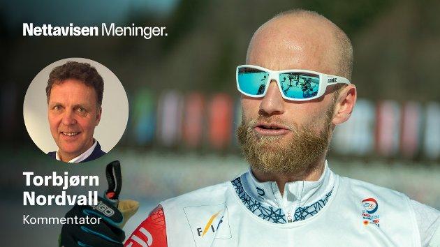 GULLGUTT: Martin Johnsrud Sundby på trening under VM på ski i Oberstdorf. Oslo-løperen har har tatt 14 medaljer i tidligere VM- og OL.