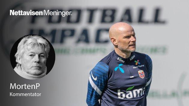 – Skal Ståle Solbakken ta Norge til sluttspill må han skape et lag som tåler å være under press. For å klare det trenger han tid, og i det perspektivet kommer årets VM-kvalifisering litt for fort, skriver MortenP.