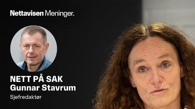 UTSETTER: Folkehelseinstituttets direktør Camilla Stoltenberg utsetter AstraZeneca-vaksinen til langt over påske.