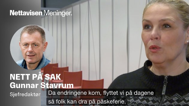I HARDT VÆR: Vaksinekoordinator Tone Vågansøy i Bærum kommune
