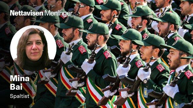 Revolusjonsgarden er et mektig våpen for opprettholdelsen av regimet i Iran, skriver Mina Bai.