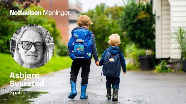 Berliner-barna – og mange andre tyske unger – lider under hyppig stenging av barnehager og skoler. Illustrasjonsfoto.