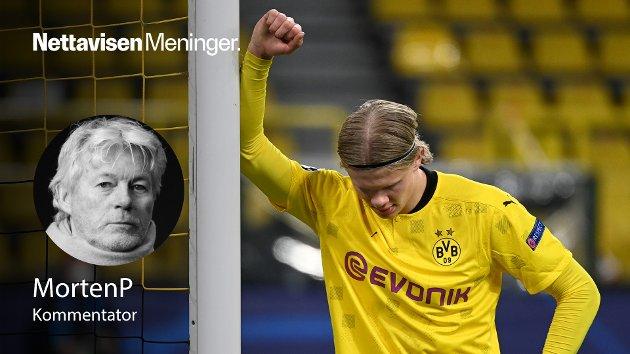 EXIT DORTMUND: Etter gårsdagens farvel til Champions League tyder alt på at Erling Braut Haaland starter neste sesong i nye farger, skriver MortenP.