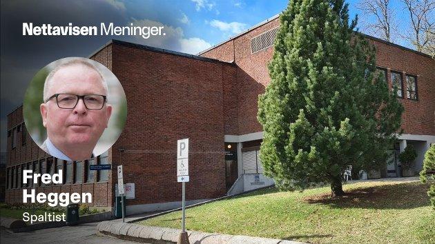 VELFERDSBYGGET: – Personlig tenker jeg at det å miste Velferdsbygget, er et første skritt mot en nedleggelse av psykiatrien på Gaustad sykehus, skriver Fred Heggen.