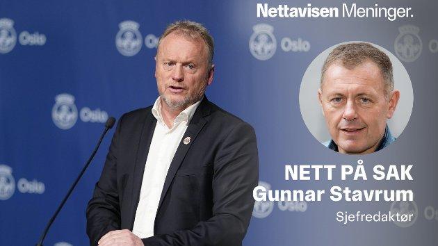 GRANSKNING: Oslo og byrådsleder Raymond Johansen må få en uavhengig gransking av korona-tiltakene i hovedstaden.