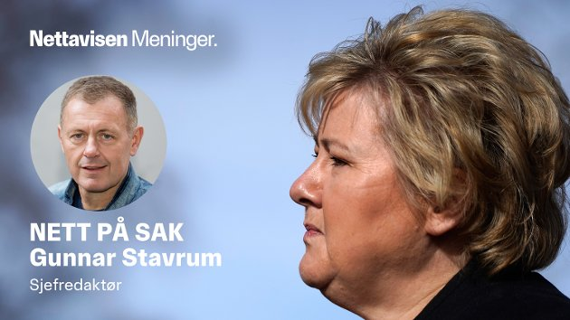 VAKSINEPASS: Statsminister Erna Solberg må få fortgang i vaksinepass-arbeidet.