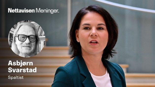 MERKELS ARVTAKER: Tobarnsmoren Annalena Baerbock (40) skaper «grønn» frykt og oppstandelse i det litt mer satte og konservative politiske miljøet i Tyskland.