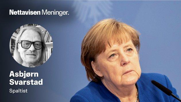 – Nå burde det vel snart være nok med doktor-juks og fradømte titler for den allerede hardt prøvede Angela Merkel. Men neida, skriver Asbjørn Svarstad.