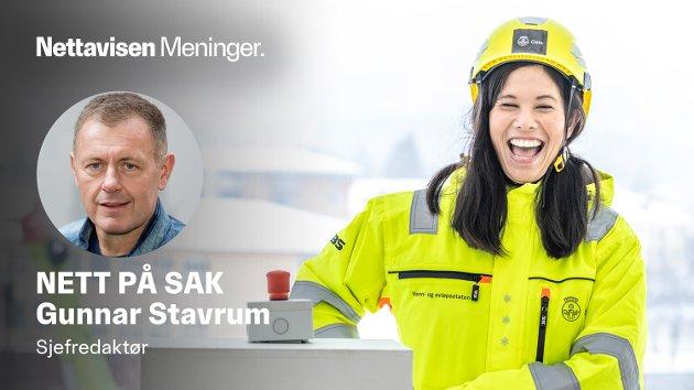 MILLIARDENE STRØMMER: Da byråd Lan Marie Berg (MDG) trykket på den røde knappen, startet hun et vannforsyningsprosjekt som nå har sprukket med fem - 5 - milliarder kroner.