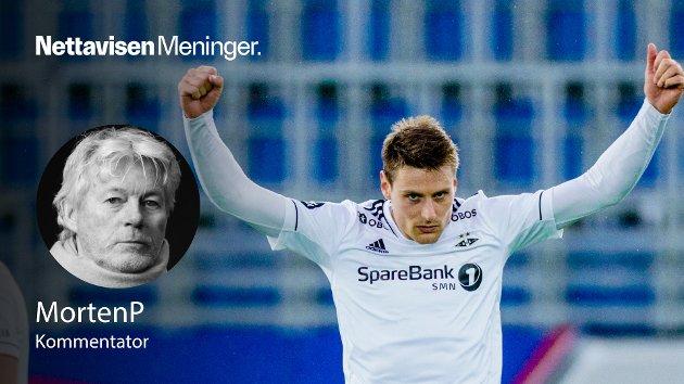 Eliteseriens formspiller, toppscorer (6) og desidert beste fotballspiller fra egen 16-meter og til motstanderens dødlinje. Han heter Kristoffer Zachariassen, mener MortenP. Her fra Intility Arena og serieåpningen mot Vålerenga.