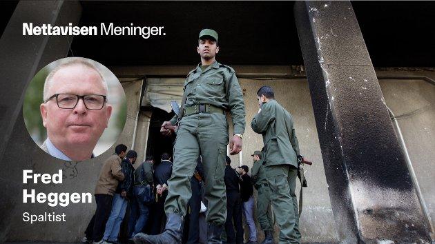 SYRIA: Nå begynner det å bli en stund siden denne krigen har figurert i våre nyhetssendinger, skriver Fred Heggen. Arkivbilde fra Daraa i Syria, 2011.
