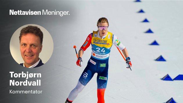 «Sverige-komplekset» går ut over den regjerende olympiske gullvinneren på 10 kilometer, Ragnhild Haga, skriver langrennsekspert og blogger Torbjörn Nordvall.