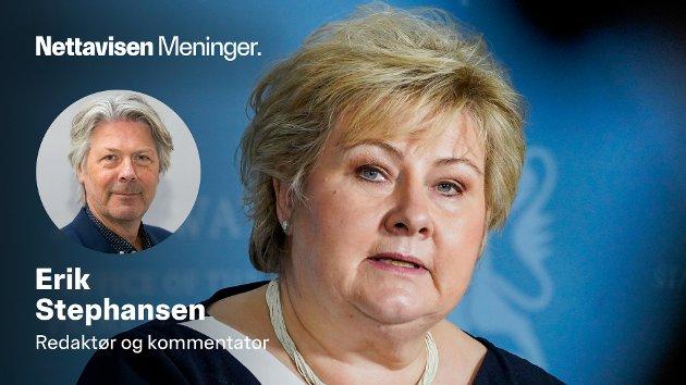 Statsminister Erna Solberg (H) har store forventninger til korona-sertifikatet som kan være klart i løpet av juni.