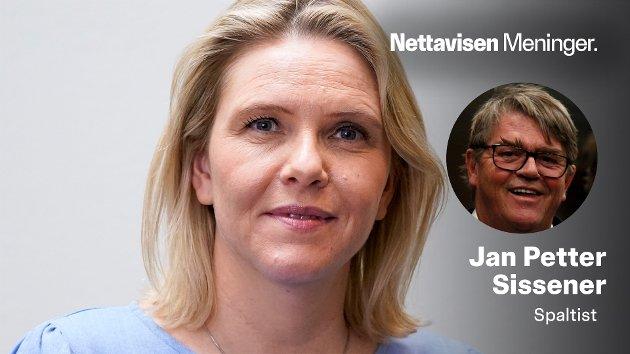 – Det blir spennende å se hvilken kurs Sylvi Listhaug staker ut fra talerstolen på helgens landsmøte. Hennes første som Frp-leder, skriver Jan Petter Sissener.