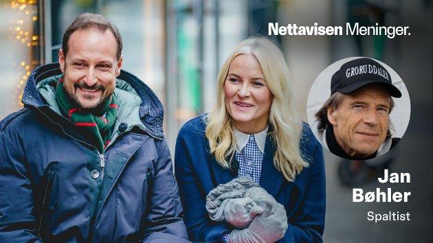 STILLER OPP: – Kronprinsparet, Håkon og Mette-Marit, har vært på minst ti besøk hos oss i Groruddalen det siste tiåret, skriver Jan Bøhler.