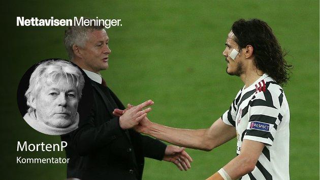 – Edinson Cavani har vært den store forskjellen på Manchester United og Roma over to kamper. Jeg sitter jeg med en følelse av at signaturen hans er like viktig som trofeet i Gdansk, skriver MortenP.