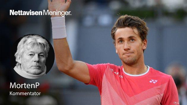 – Casper Ruud kan vinne i Paris, Nadal kan han alltids slå en annen gang, skriver MortenP